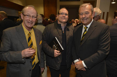 Frank Shane, Andrew Adair and David Haslett